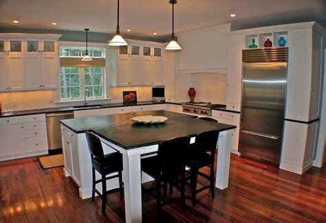t shaped island kitchen