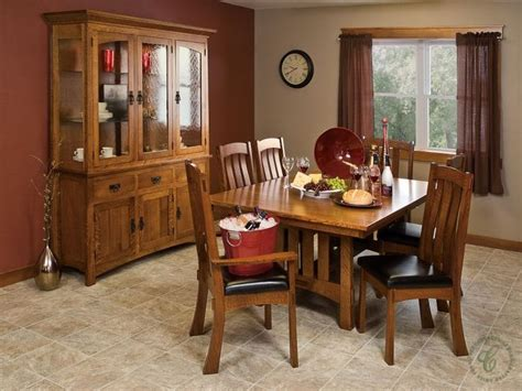 amish mission trestle craftsman dining 1000 images about mission style furniture on