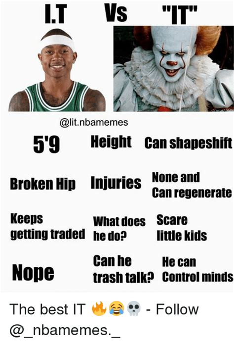 meme height it vs it 5 9 height can shapeshift broken hip injuries