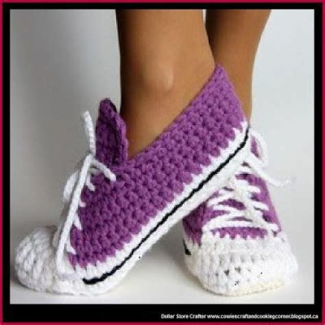 crochet running shoe slippers 17 best images about for t one day on