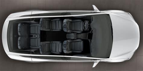 new 6 seat option added to tesla model x design studio