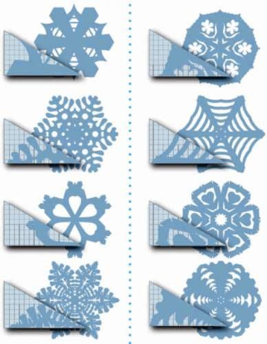 Paper Snowflakes Folding - paper snowflake templates http sussle org t
