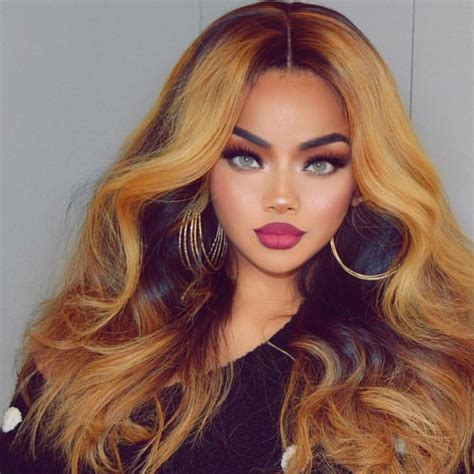 color 12 and black hair wea brittanie evans shows us women of color can wear different