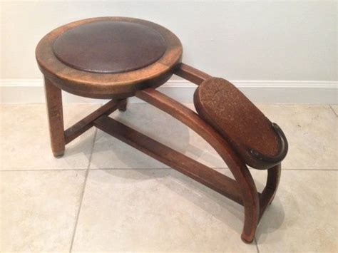 Shoe Stool by School Shoes Vintage Shoe Shine Stool