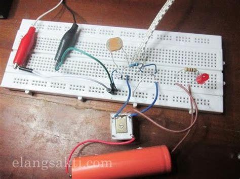 Lu Otomatis Sensor Cahaya rangkaian sensor cahaya dengan ldr untuk membuat lu
