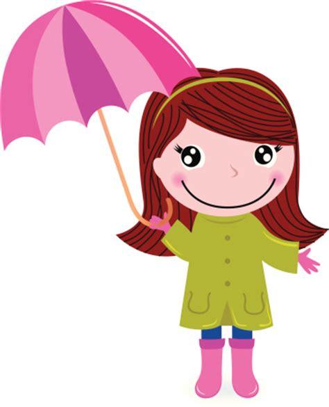 girl umbrella clipart clipground
