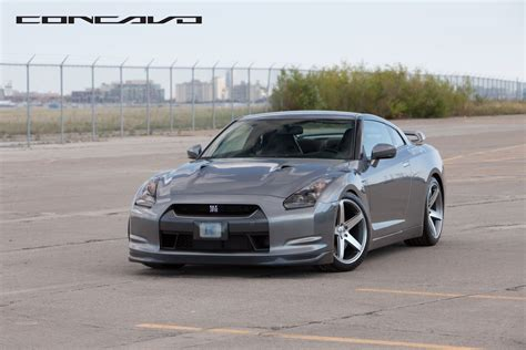 nissan gtr matte grey nissan gtr on 20 concavo cw 5 matte grey machined