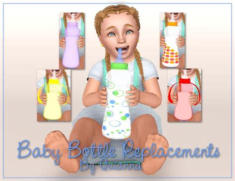 sims 4 cc baby funtioneri quianna baby bottle replacements sims 3 toddlers