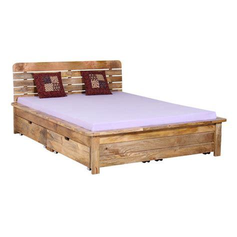 letti contenitori in legno letto etnico con contenitori offerte letti etnici