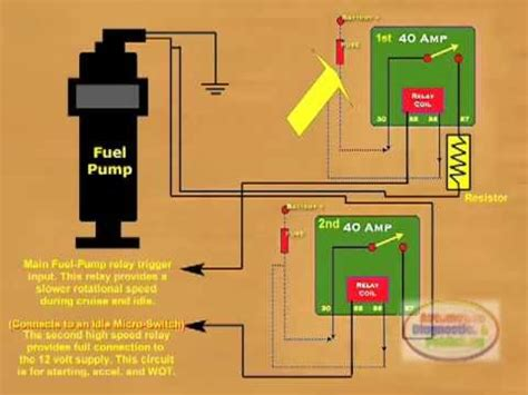 how to connect a fuel relay