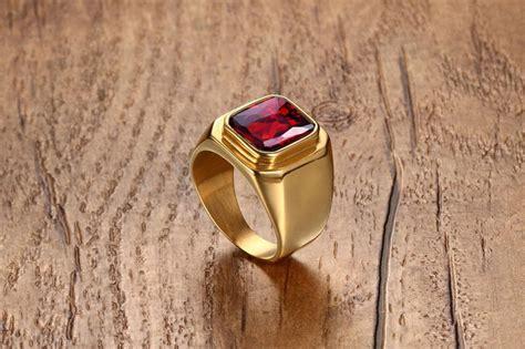 Cincin Cincin Kawin Gold Titanium Original Import laki laki stainless steel band cincin ruby pernikahan emas lazada indonesia
