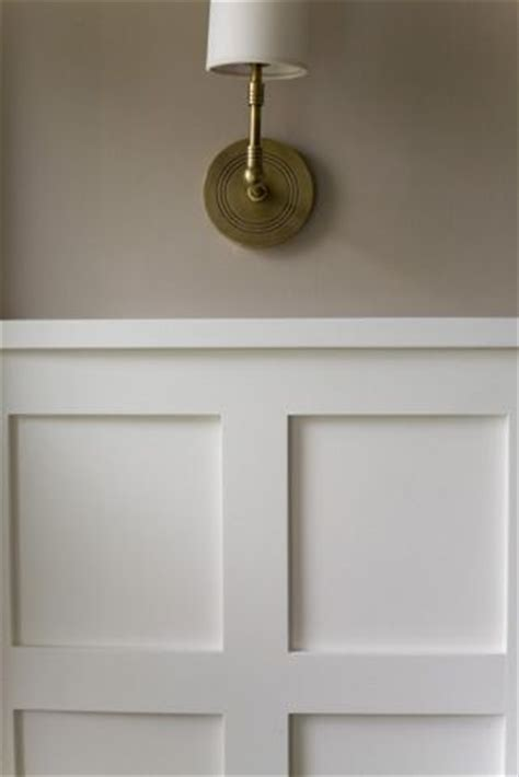 Wainscoting Squares Wainscoting With Squares