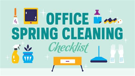 spring cleaning office spring cleaning checklist