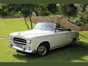 peugeot car valuation car valuation evolution peugeot 403 cabriolet 1955 1966