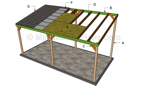 carport building plans pdf how to build wood carport plans free