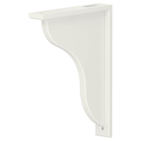 White Wooden Shelf Brackets Decorative Metal Shelf Brackets Homesfeed