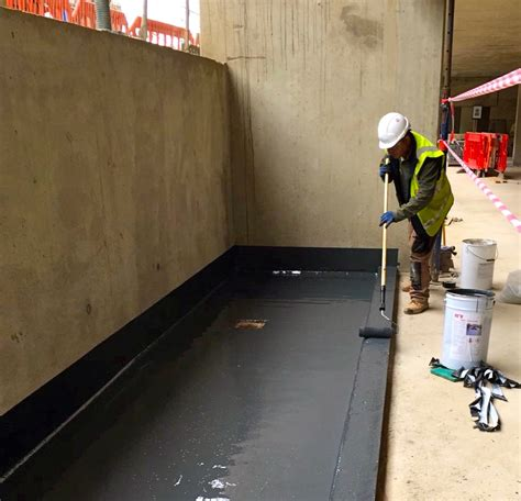 fast track show room triton delivers fast track elastomeric waterproofing