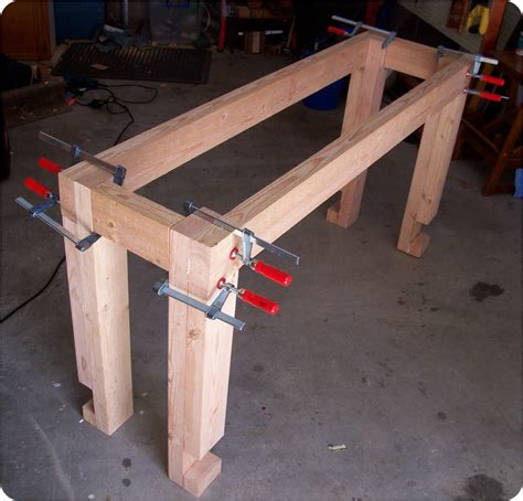 Woodworking Bench Vice Parts by Building A Workbench The Woodwork Geek