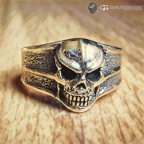 Handmade Skull Rings - shop for handmade skull rings