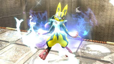 Shiny Medias Wiiwii by Shiny Mega Lucario Smash Bros For Wii U Skin Mods
