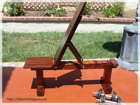 homemade weights bench image gallery homemade bench press