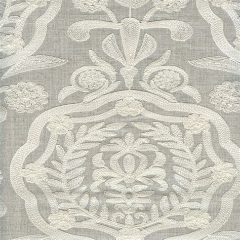 embroidered linen drapery fabric cameo linen embroidered drapery fabric by braemore fabrics