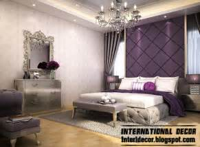 Ideas For Decorating Bedroom contemporary bedroom design ideas with purple wall decorating ideas