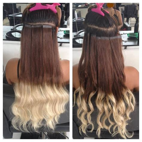 micro ring hair extensions before and after hair extensions factory 100 premium human hair