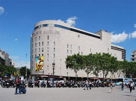 el corte ingles 224 barcelone