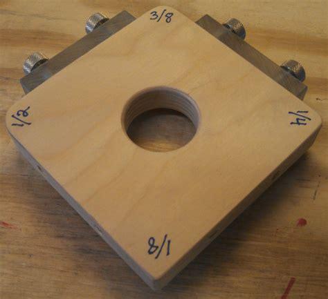radius woodworking corner radius jig ii now adjustable by nitewalker