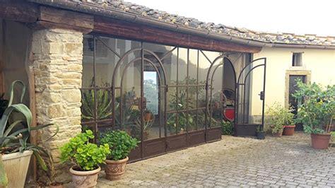 verande in ferro veranda in ferro battuto e vetro con tettoie per esterno