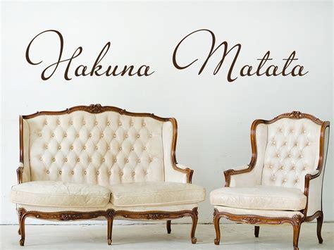 le schriftzug wandtattoo schriftzug hakuna matata klebeheld 174