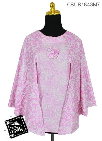 Batik Soft Daun Almas model busana muslim batik batikunik
