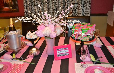 themes for little girl parties little girl spa party the alotimalist