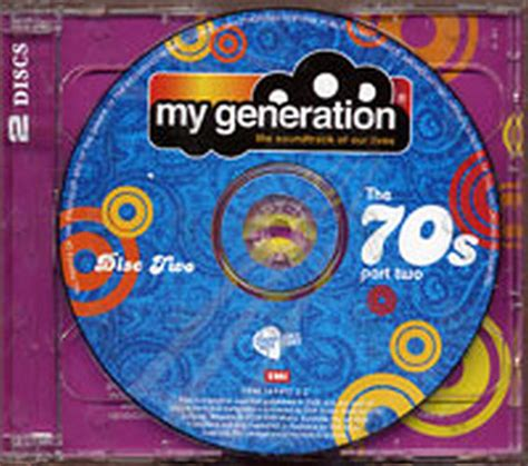 Who Lives On My Records Various Artists My Generation The Soundtrack Of Our Lives Album Cd Records