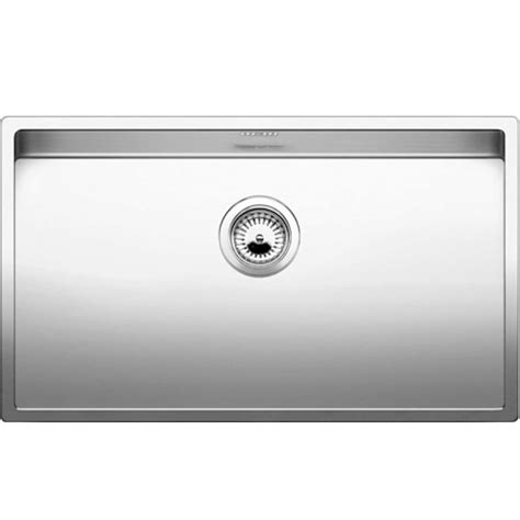 blanco stainless steel sink blanco claron 700 u stainless steel sink kitchen sinks