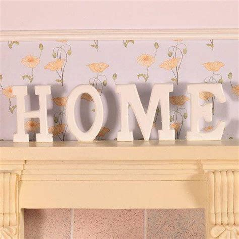Home Letters the dolls house emporium home letters in wood 4 pcs