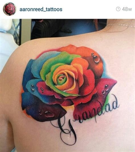 rainbow rose tattoo 36 best images about small filler tattoos on