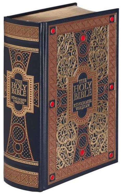 Wedding Bible Readings King by The Holy Bible Kjv Leather Bound With Gold Leaf Edges