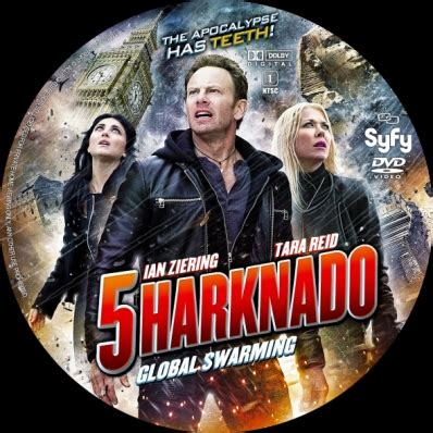 sharknado 5 global swarming sharknado 5 global swarming dvd covers labels by