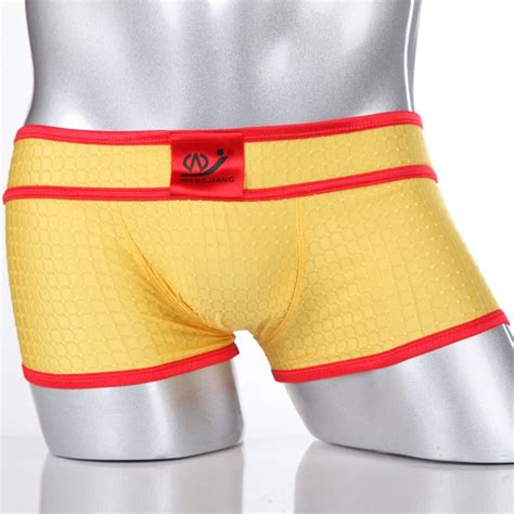 comfortable y underwear new comfortable mens underwear sexy mesh boxer briefs