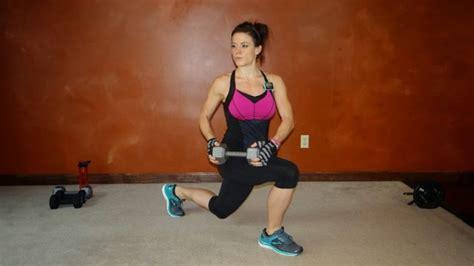 dumbbell skier swings full body standing dumbbell workout bender fitness