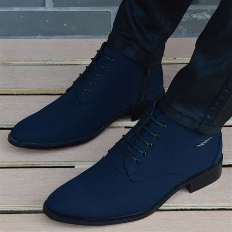mens high top oxford shoes new mens casual high top pointy toe chukka dress shoes