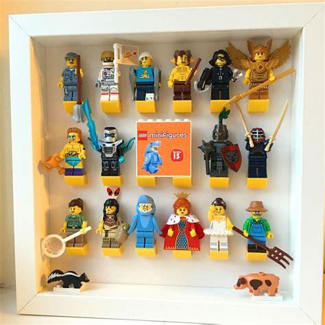 Frame Lego Minifigure Series 15 Display 17 beste afbeeldingen for op wasknijper magneten water spelen en peuter