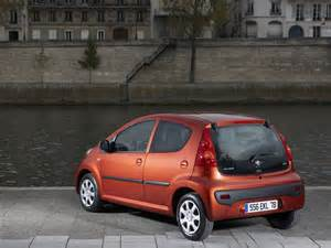 Peugeot 107 Technical Specifications 2009 Peugeot 107 5 Door Motor Desktop
