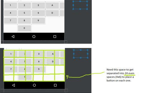 gridlayout weight android how to fit views inside bounds of gridlayout