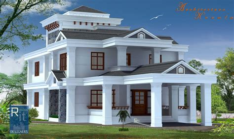 style home design architecture kerala 4 bed room kerala house