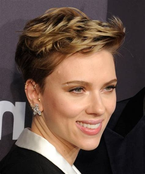 ideas for short haircuts non celebrity photos 20 best ideas of scarlett johansson short hairstyles