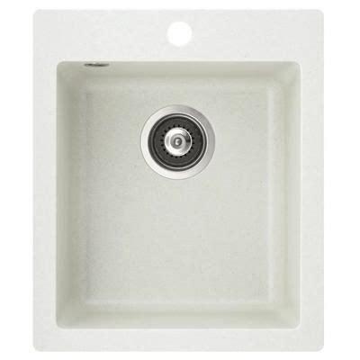 Taille Evier 2 Bacs by Evier Carr Bac Sans Gouttoir En Granit Blanc Dimension