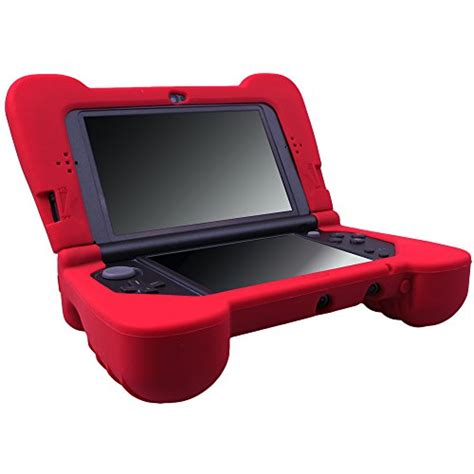 New 3ds Xl Handgrip By Bekasigame pandaren soft silicone protector with grip for new